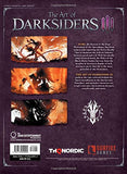 A photo of the artbook The Art of Darksiders III