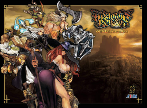 A photo of the artbook Dragon's Crown: Official Artworks