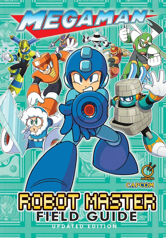 A photo of the artbook Mega Man: Robot Master Field Guide - Updated Edition
