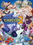 A photo of the artbook Udon's Art of Capcom 2 - Hardcover Edition