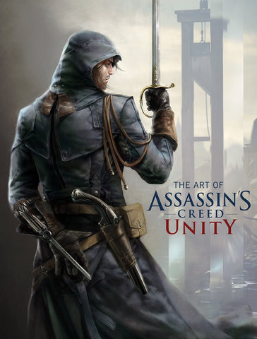 A photo of the artbook The Art of Assassin's Creed: Unity