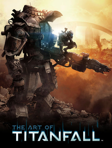 A photo of the artbook The Art of Titanfall