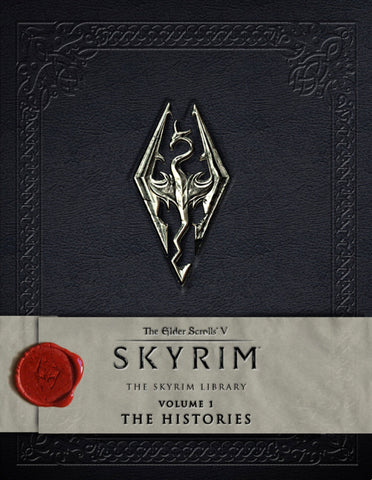 A photo of the artbook The Elder Scrolls V: Skyrim - The Skyrim Library, Volume I: The Histories