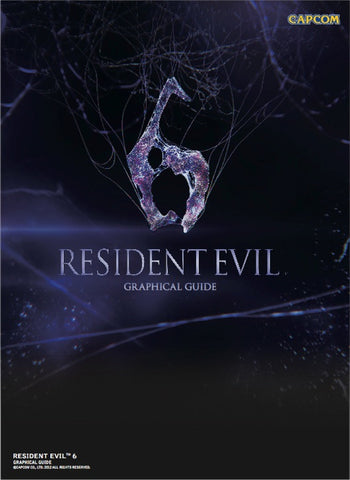 A photo of the artbook Resident Evil 6: Graphical Guide