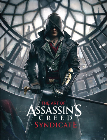 A photo of the artbook The Art of Assassin's Creed: Syndicate