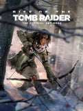 A photo of the artbook Rise of the Tomb Raider: The Official Art Book