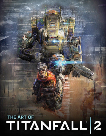 A photo of the artbook The Art of Titanfall 2