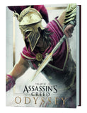 A photo of the artbook The Art of Assassin's Creed Odyssey