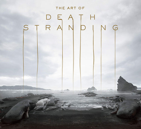 A photo of the artbook The Art of Death Stranding