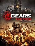 A photo of the artbook Gears Tactics - The Art of the Game