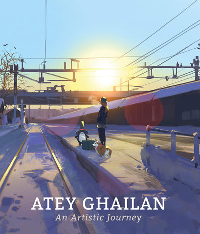 A photo of the artbook An Artistic Journey: Atey Ghailan