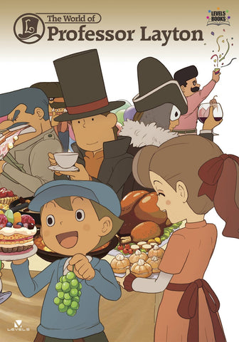 A photo of the artbook The World of Professor Layton