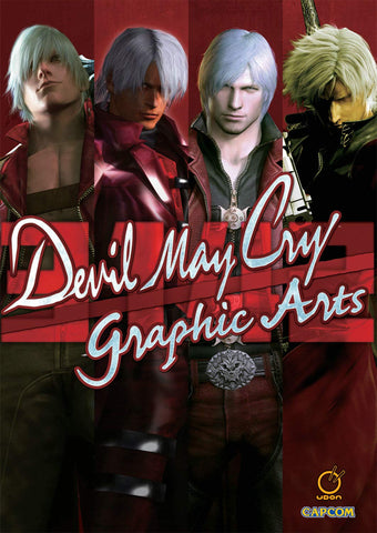 A photo of the artbook Devil May Cry: 3142 Graphic Arts