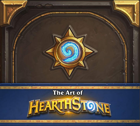 A photo of the artbook The Art of Hearthstone