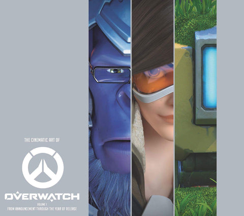 A photo of the artbook The Cinematic Art of Overwatch