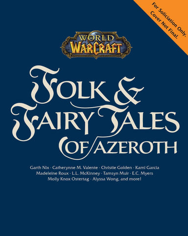 A photo of the artbook World of Warcraft: Folk & Fairy Tales of Azeroth