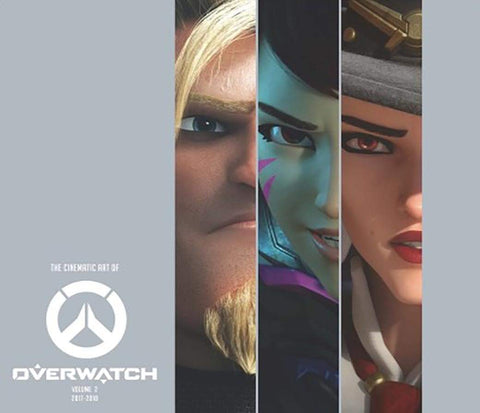 A photo of the artbook The Cinematic Art of Overwatch, Volume Two