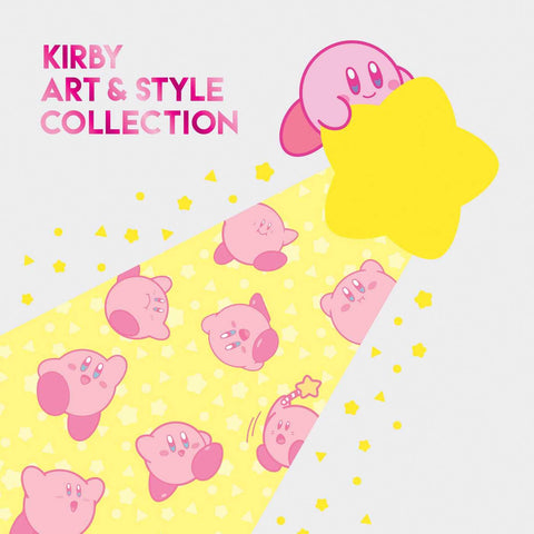 A photo of the artbook Kirby: Art & Style Collection