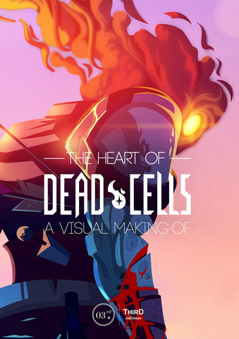 A photo of the artbook The Heart of Dead Cells: A Visual Making-Of