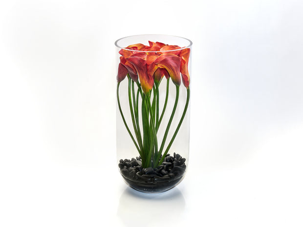 GLASS CALLA TOWER