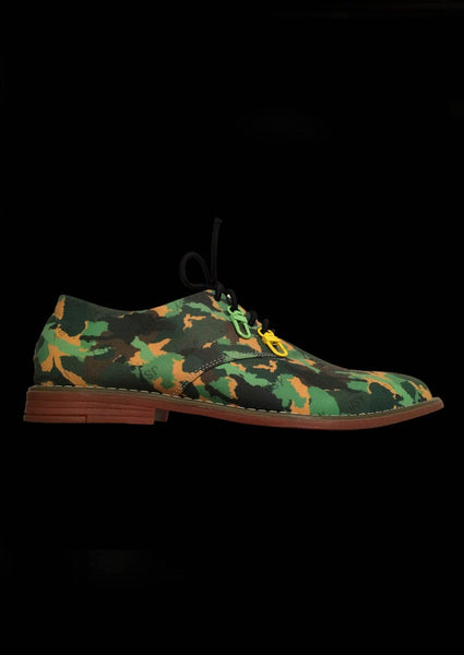 SOULIERS CAMOUFLAGE