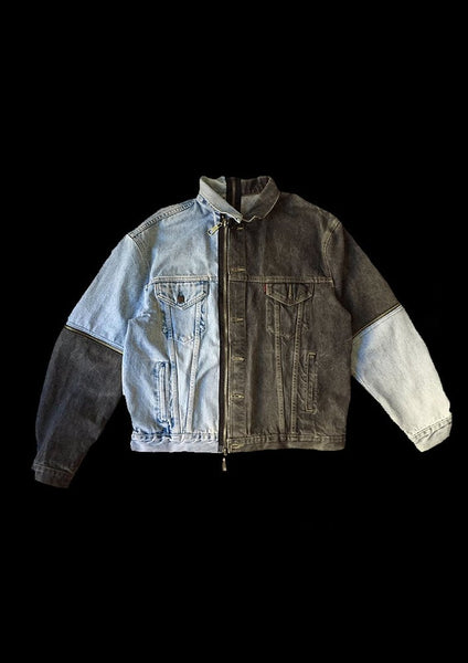 VESTE DENIM PUZZLE