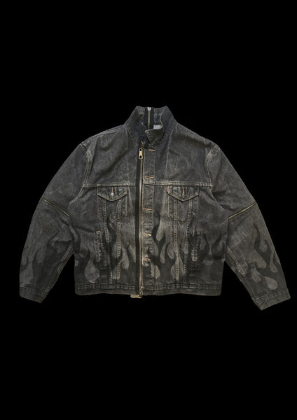 VESTE DENIM FLAME