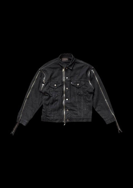 VESTE DENIM DARK