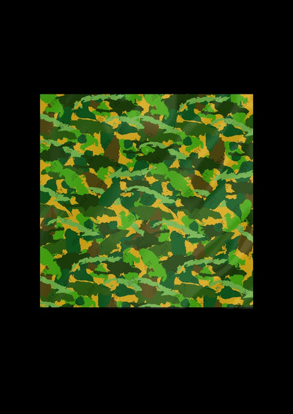 CARRE CAMOUFLAGE WEST INDIES