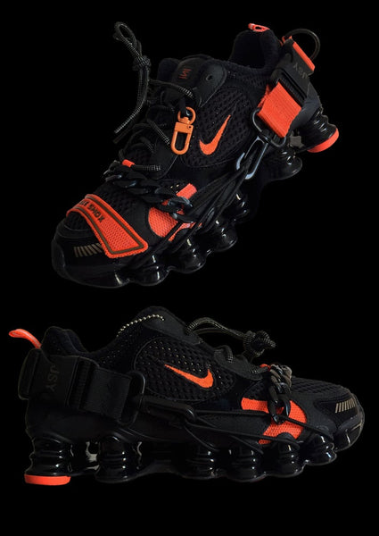 BASKETS SHOX ORANGE