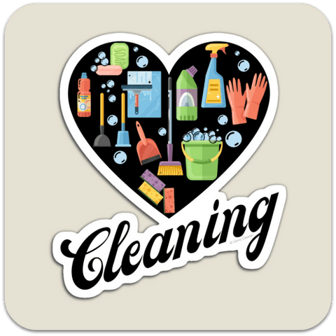 Love Cleaning Magnet Savvy Cleaner Funny Cleaning Gifts