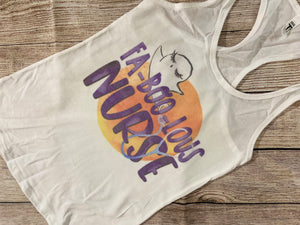 Fa-Boo-Lous Nurse Tank Top