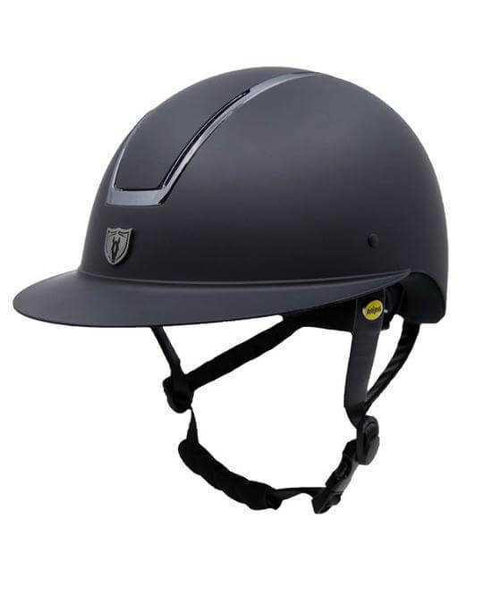 Tipperary Windsor Helmet   Black Crome
