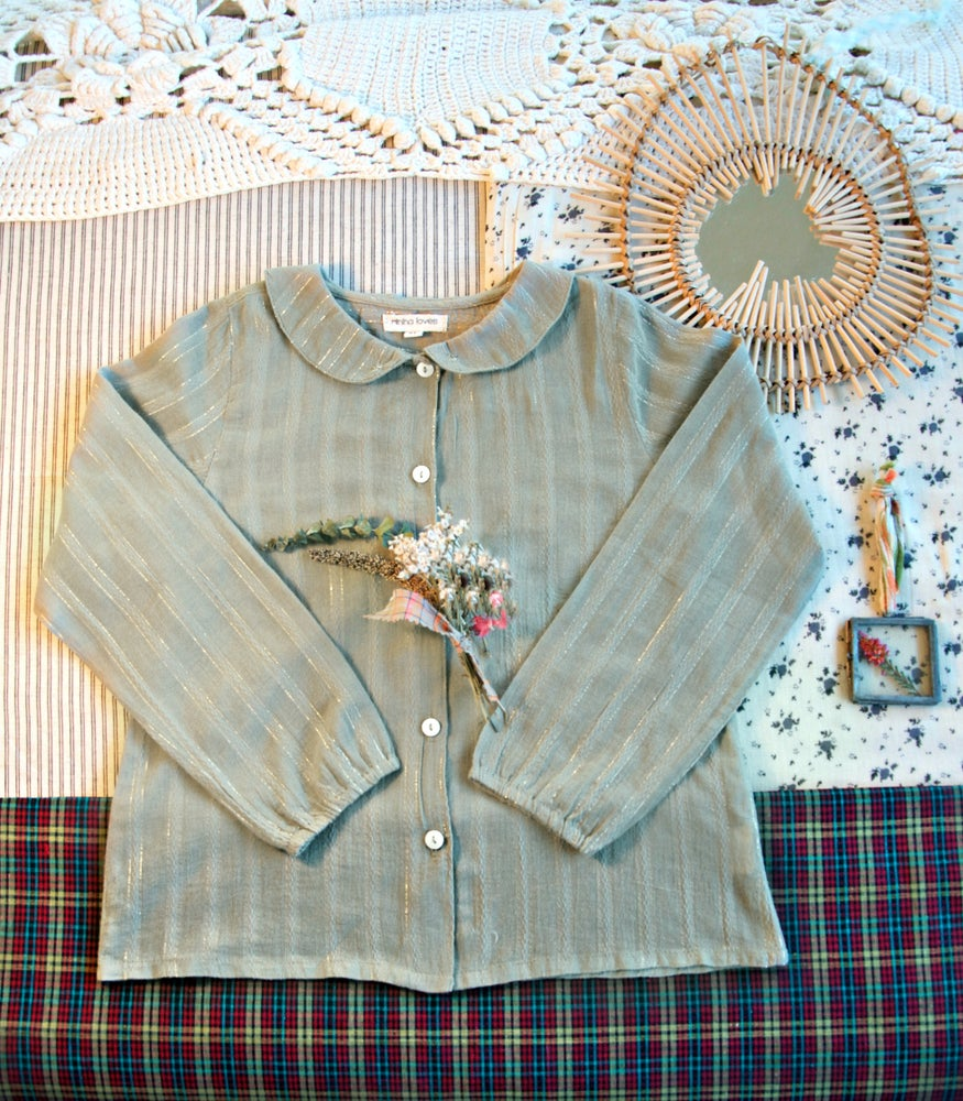 BLUSA ESTHER GREENGREY