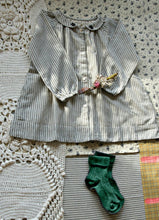 Load image into Gallery viewer, VESTIDO LAURA BLACK STRIPE  BEBÉ Y NIÑA