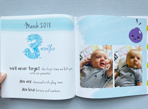 Watch Me Grow Month 3