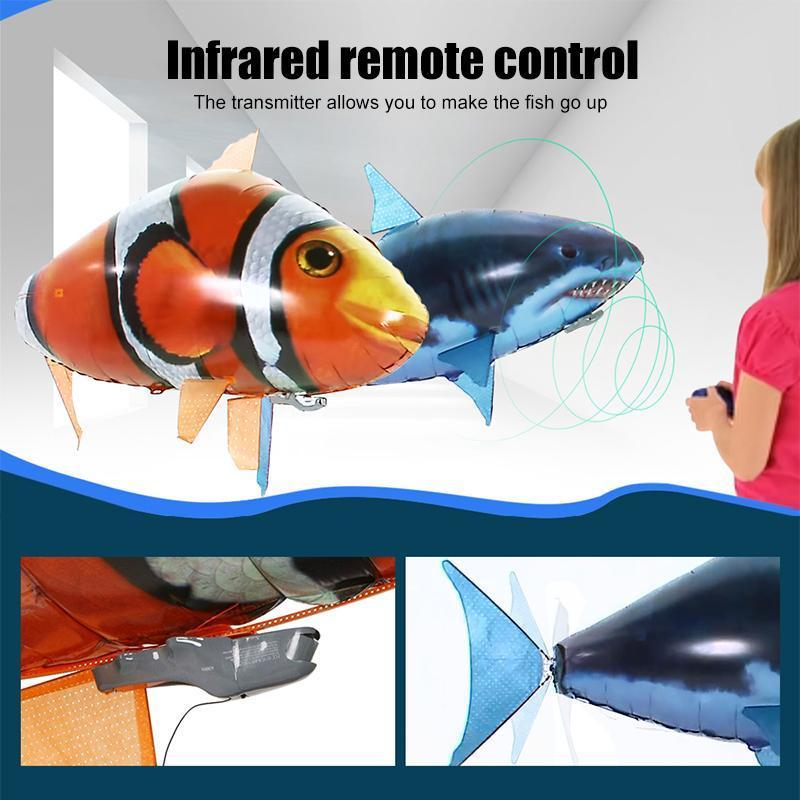 Remote control electric flying fish