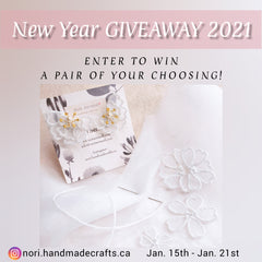Handmade earrings in Victoria, BC, Giveaway in Victoria, BC