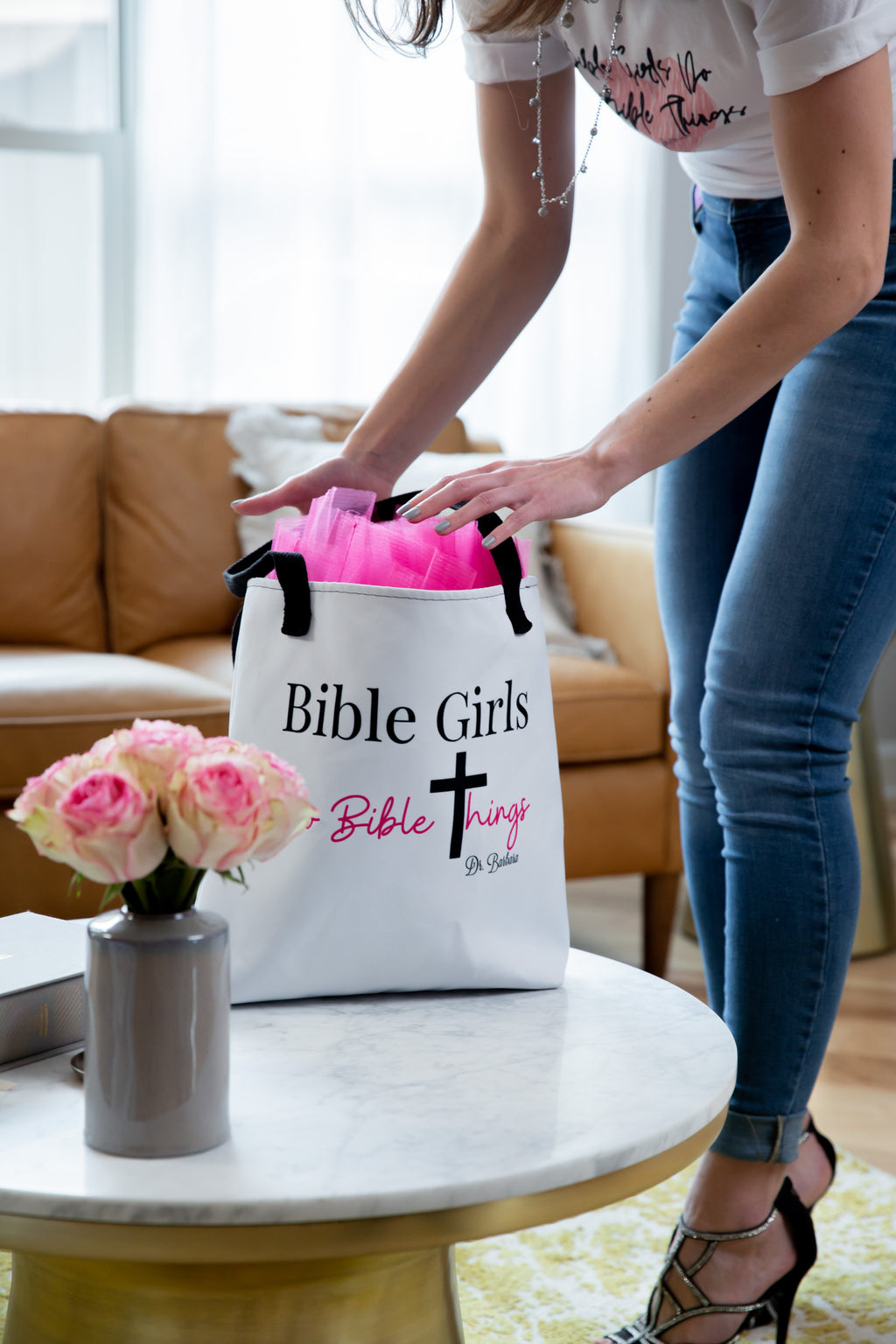 Bible Girls do Bible Things Quiet Time Tote