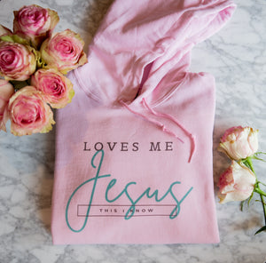 """Jesus Loves Me This I Know"" Unisex Hoodie"