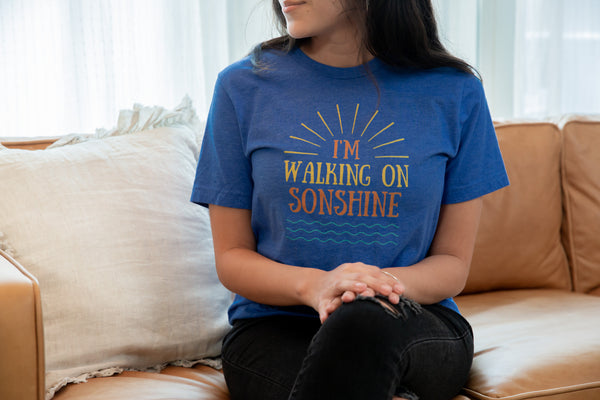 """Walking On Sonshine"" Short-Sleeve Unisex T-Shirt"
