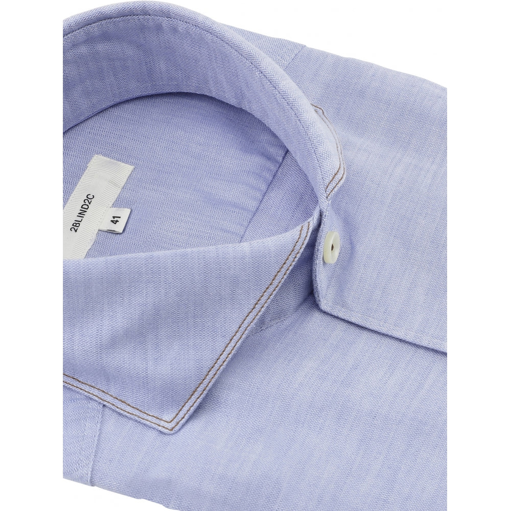 Load image into Gallery viewer, Felipe Fitted Shirt - LBL Light Blue