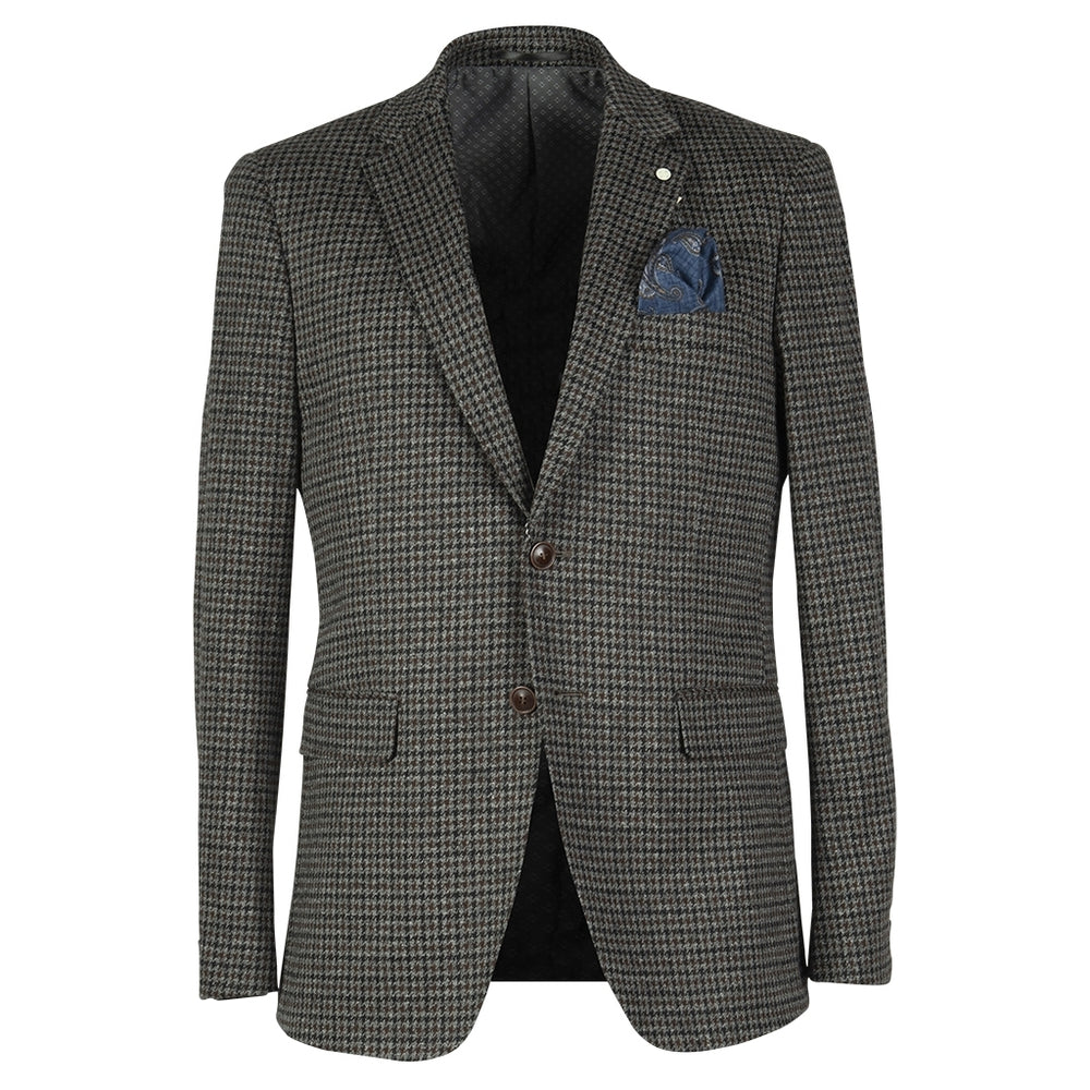 Ford Fitted Stretch Blazer - BRW Brown