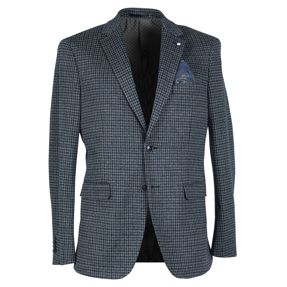 Ford Fitted Stretch Blazer - NAV Navy