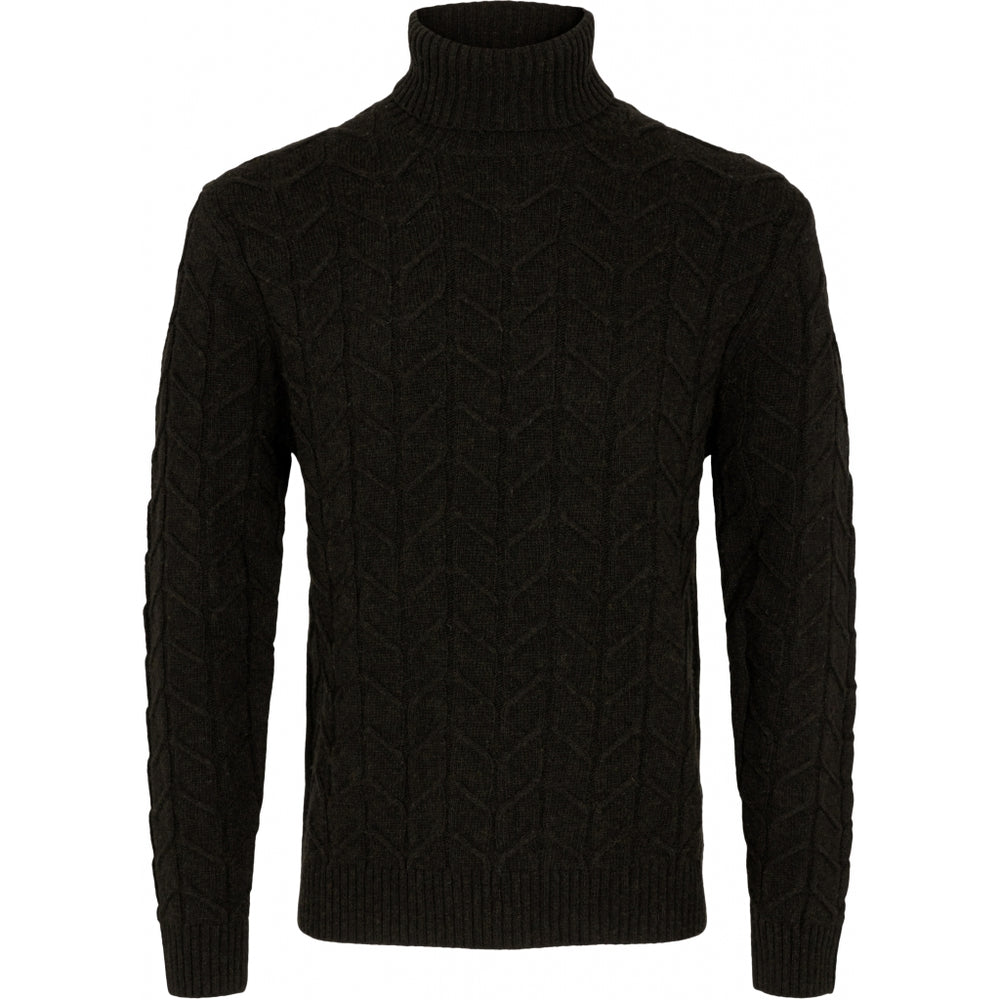 Load image into Gallery viewer, Kash Chunky Lambswool Rollneck