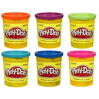 PLAY DOH SINGLE CAN ASST NEW PACK