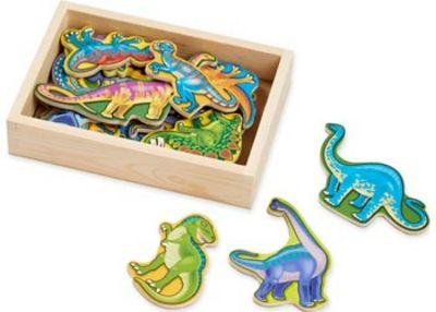 M&D DINOSAUR MAGNETS IN A BOX OF 20