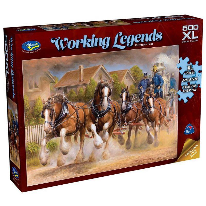 HOLDSON WORKING LEGENDS 500PC XL