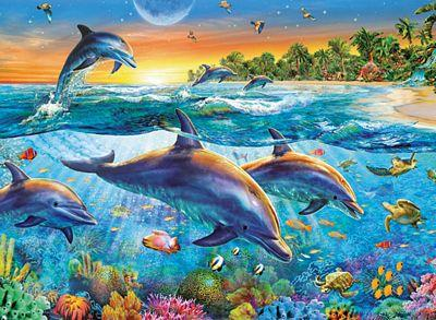 RAVENSBURGER DOLPHIN COVE PUZZLE 500PC