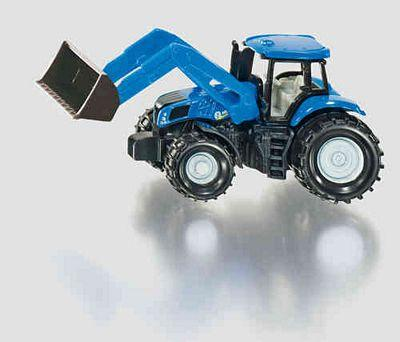 SIKU NEW HOLLAND W/FRONTLOADER